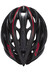 Lazer O2 Helm black-red line